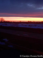January 19, 2015 - Another beautiful Colorado sunset. (Carolyn Owens Smith )