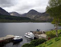 Inversnaid, Loch Lomond (Russardo) Tags: scotland pier boat ben loch vane lomond cruises inversnaid
