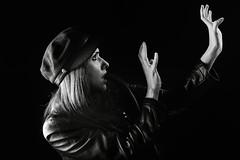 Temor / Fear (ikimilikili-klik) Tags: bw byn studio model estudio bn modelo session euskalherria basquecountry pamplona navarre navarra irua pampelune nafarroa sesin 50mmf14d zaloa nikkor50mm d700 nikond700