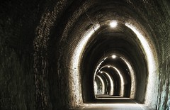 Enter if you dare. (Envy Photographic) Tags: light digital long exposure tunnel arches canoneos canon1785mm