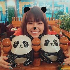 🐼🐼🐼 #kakiuchiayami#mina#shooting#panda#垣内彩未