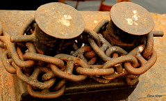 Anchored (Kaniz Khan 2009) Tags: dock chain rusted anchor bangladesh dockyard rustedchain oldchains