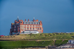 The Headland Hotel (Marlytyz) Tags: architecture hotel cornwall gothic newquay fistralbeach headlandhotel