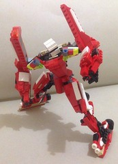 7 (ezrawibowo) Tags: robot lego transformers scifi creator build mecha mech alternate moc legoformer