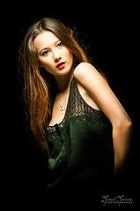 Mline (mika.images) Tags: light red portrait woman girl beauty female studio asian model pretty femme sensual sensuality charme asiatique feminity sensualit fminit