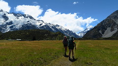 Side tripping to Aoraki/Mount Cook National Park