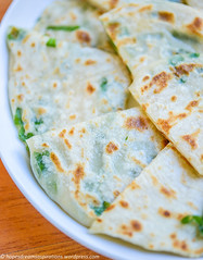 Chinese Spring onion pancakes   (michtsang) Tags: appetiser springonion chinesepancakes