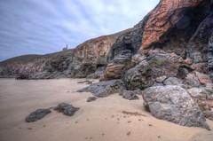 The cliffs near Chapel Porth, Cornwall (Baz Richardson) Tags: coast cornwall cliffs tinmines chapelporth whealcoates sandybeaches towanroathshaftpumpinghouse
