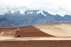 Farm Land_1748 (hkoons) Tags: ranch sky horse mountain snow tractor mountains history peru latinamerica southamerica sports weather animal cuzco clouds america landscape view farm cusco country ox soil dirt spanish crop andes fields crops produce farmer plow agriculture elevation oxen sacredvalley commodity peruvian ollantaytambo fertile southernperu