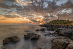 Sunrise at Low Head Lighthouse (Steve Whitworth) Tags: longexposure lighthouse sunrise nikon australia tasmania nd64 lowhead northerntasmania nikon1635mmf40 nikond800e