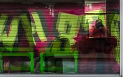 Greens and Reds (JeffStewartPhotos) Tags: red toronto ontario canada reflection green window jeffs mural photographer greens photowalk reds seaton selfie torontophotowalk topw torontophotowalks seatonvillagesaturdayscramble topwsvss
