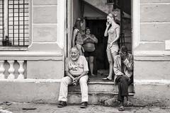 what to do (Gerard Koopen) Tags: street people bw woman man girl 35mm fuji candid havana cuba streetphotography fujifilm habana 2016 whattodo straatfotografie xpro1 gerardkoopen