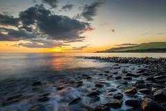 Clavell pier Kimmeridge - Dorset (Christopher Pope Photography) Tags: sunset england beach clouds golden rocks surf dusk colourful goldenhour kimmeridge kimmeridgebay 2016 dorest atmospere clavell'spier