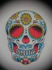 Calaca! #draw #traditionaltattoo #illustration #calaca #diademuertos (Daniel Lokillo!) Tags: illustration diademuertos draw calaca traditionaltattoo