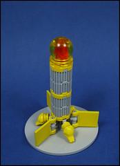 Amphibia's Folly (Karf Oohlu) Tags: lego frog spaceship moc microscale microspacetopia cigarship
