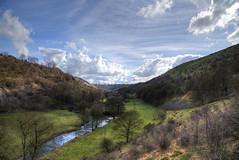 Monsal Dale (sidibousaid60) Tags: trees sky clouds river landscape valley riverwye monsaldale monsalhead cressbrook