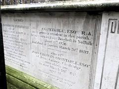 John Constable (moley75) Tags: london tomb painter hampstead johnconstable hampsteadparishchurch stjohnathampstead