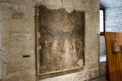 Courtly Scenes - Fresco - Musee du Petit Palais (rfzappala) Tags: france europe du musee palais avignon fresco languedoc petit 2015