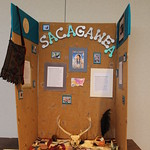A student's history project on Sacagawea.