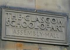 GSA Assembly Hall (Dumpster Diving Diva) Tags: travel school art scotland glasgow mackintosh