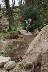 Arthur footplant Ayzac trails (Trialxav) Tags: bmx freestyle trails tricks dirt dig digger