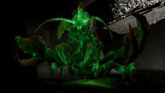 Fallout4 - Legendary Glowing Mirelurk Hunter (tend2it) Tags: game green pc screenshot 4 nuclear xbox legendary rpg future lobster radioactive glowing hunter crayfish apocalyptic fallout injector postprocessing ps4 mirelurk reshade fallout4 screenarchery irratiated