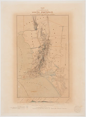 Plan of the Settled Districts of South Australia (State Records SA) Tags: map plan captain sa southaustralia survey frome staterecords staterecordsofsouthaustralia staterecordssa