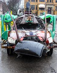 Giant Pest II (Bob Ponder Photography) Tags: leica cars detroit bugs midtown roach