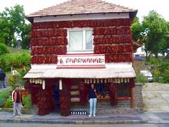 Lago Balaton casa del peperoncino (stefanopes) Tags: peperoncini paprika