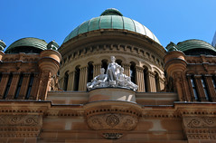 Aus128 - Queen Victoria Building, Sydney (Donna's View) Tags: facade nikon sydney australia queenvictoriabuilding d60