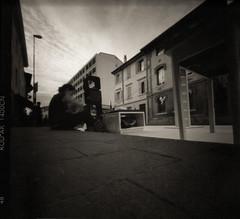 street art (pinhole) (danielesandri) Tags: street film kodak pinhole udine pellicola friuliveneziagiulia forostenopeico pinhassy