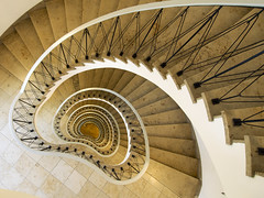 Details (martinturner) Tags: berlin germany spiral angle wide fisheye treppe staircase german wendeltreppe martinturner