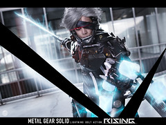 Raiden - Metal Gear Solid Rising by Alex's Cosplay (Glynford Custodio Photography) Tags: slash game art metal rising nikon f14 videogames 24mm gears solid raiden sgima d5100