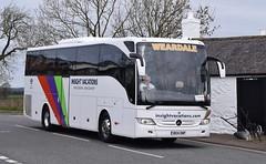 BX14ONP  Weardale, Stanhope (highlandreiver) Tags: bus green mercedes benz scotland coach durham scottish gretna co coaches stanhope tourismo onp weardale bx14 bx14onp