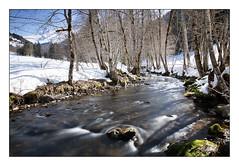 Le Borne (Rmi Marchand) Tags: alpes hiver le torrent borne hautesavoie grandbornad
