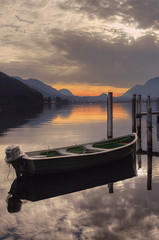 Peaceful sunset.... (Alex Switzerland) Tags: sunset canon landscape eos switzerland ticino tramonto lugano paesaggio 6d luganese morcote ceresio brusino