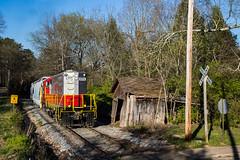 GNRR 8705 at Tate,GA (Kyle Yunker) Tags: train georgia northeastern emd gnrr gp18