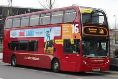 National Express West Midlands Alexander Dennis Enviro400 4801 (BX09 PDY) (Perry Barr) 'Angela' (john-s-91) Tags: birmingham eddietheeagle 4801 alexanderdennisenviro400 nationalexpresswestmidlands route16a bx09pdy