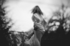Inner beauty... (privizzinis passion photography) Tags: people blackandwhite blur girl monochrome childhood children dance child dress spin outoffocus motionblur twirl oof freelensed