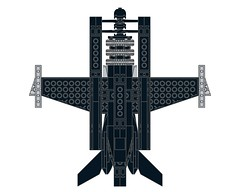 D4DRazortail005 (Dragonov Brick Works) Tags: lego aircraft snot ldraw studless miniscale