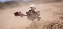 Speeder: Dust (Kyle Hardisty) Tags: trooper macro field canon mos kyle outside outdoors photography star sand flickr lego fig scout creation wars minifig depth eisley tatooine minifigure moc 2016 microscale hardisty