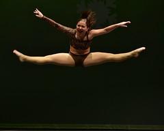 Flying Scream... (R.A. Killmer) Tags: girl flying dance stage recital dancer highschool teen scream performer leap talented danceworkshopbyshari