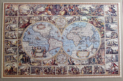 Antique World Map (pefkosmad) Tags: world map antique hobby puzzle leisure jigsaw complete pastime fxschmid 1500pieces