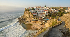 Azenhas do Mar, Portugal (taipan_pl) Tags: ocean portugal mar town rocks do village azenhas portugalia