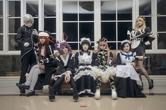27wc (eyestrained) Tags: photography cosplay overlord pleiades nabe albedo demiurge momonga cosplayphotography overlordcosplay