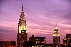 Art Deco Masterpieces (Tony Shi Photos) Tags: chryslerbuilding empirestatebuilding esb artdeco nyc newyorkcity midtown manhattan midtownmanhattan newyork skyscrapers classic iconic icon            nowyjork novayork