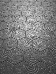 Mosaikplatte (G_u_e_d_e) Tags: barcelona spain bcn fliese gaudi casamila brgersteig fussboden zementplatte mosaikplatte