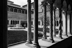 Basilica di San Giovanni in Laterano (Nicolas Loison) Tags: san italia noir basilica di blanc eglise italie giovanni laterano