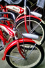 "IMG9813 (BarneyGoogle99) Tags: red 1948 bike bicycle wheel stand tank seat balloon ivory tire chrome badge motorcycle vehicle spitfire brake pedals headlight handlebar horn schwinn rim coaster juvenile rods 1949 saddle dx truss grips bendix troxel 20"" mesinger"