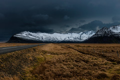 Storm Looming {Explored April 20th, 2016} (Marshall Ward) Tags: winter storm mountains landscape iceland roadtrip stormyskies 2015 ndfilter stormapproaching nikond800 afszoomnikkor2470mmf28ged marshallward